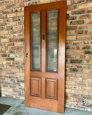 Front door - solid timber