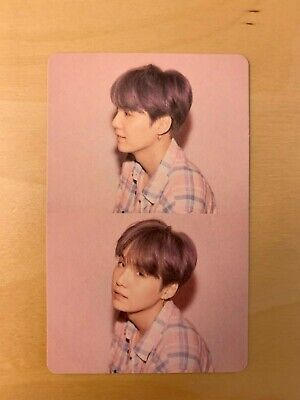K-POP BTS MAP OF THE SOUL:PERSONA SUGA Official Photocard Boy With Luv Version 1
