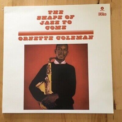 "Ornette Coleman "" The Shape Of Jazz To Come"" LP Used Like New Wax Time"