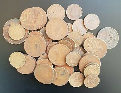 241 Grams World coins from MEXICO..