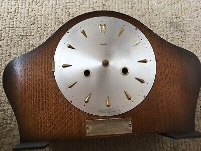 Vintage Smiths Mantle clock , for spares or repairs