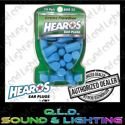Hearos Xtreme Protection Earplugs NRR32 - 14 Pairs - New and Sealed in Pack