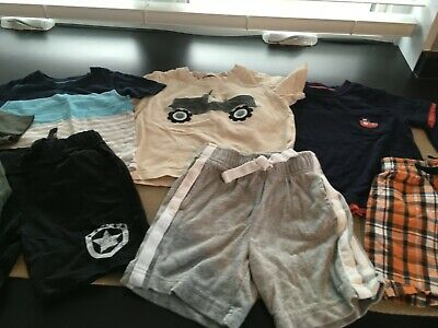 Lot Bundle of 9 Gymboree Boys Size 12-18 Months Summer Outfits Shorts Shirts