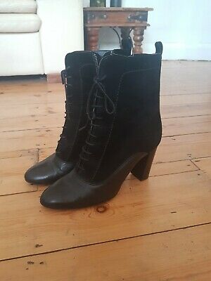 Ladies Gothic Ankle Boots Size 9