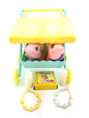My Little Pony G1 Sniffles & Snookums Stroller & Accessories