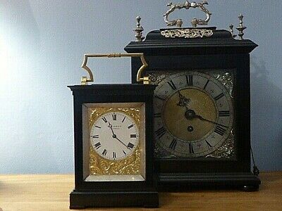 Large English Fusee Carriage clock by E J Dent