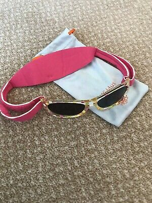 KIDDUS Baby Sunglasses for Baby Girl Age 0 to 24 months **Safe UV Protection**