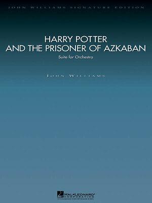 Harry Potter and the Prisoner of Azkaban Orchestra Set MUSIC SCORE & PARTS