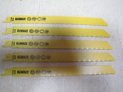 Dewalt DT2400 wood & metal cutting recip saw blades ideal for pallets 5pk