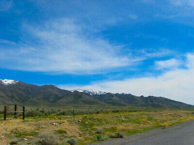 Amazing 20 Acre Nevada Ranch W Power & 2Wd Access! A+ Views Cash Sale~No Reserve
