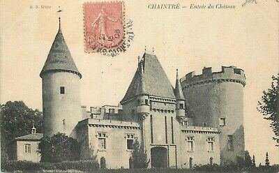 CHAINTRE le chateau