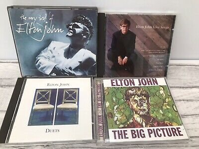 Elton John CD Bundle Job Lot The Very Best Of Love songs Big Picture Duets VGC