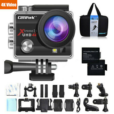 Campark Action Cam 4K HD 1080P Waterproof Sports Camera WiFi Camcorder as Go Pro