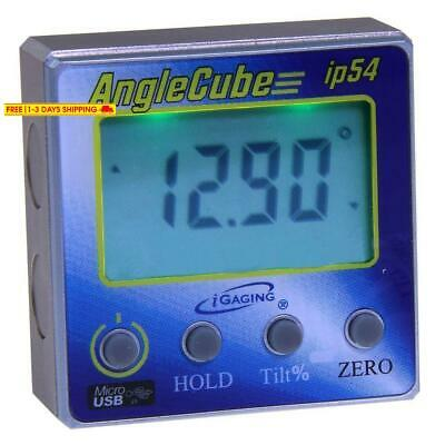 Igaging 35-2269 Angle Gage Backlit Digital Electronic Magnetic Level/Protractor/