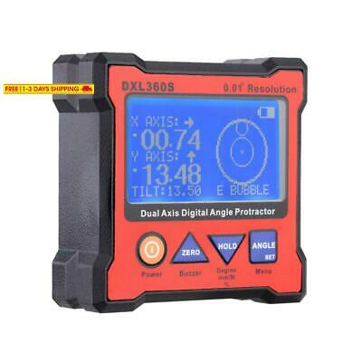 Kkmoon Digital Level, Dxl360S Dual Axis Digital Angle Protractor With 5 Side Mag
