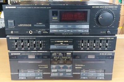 Pioneer Dc-Z81 Stereo Amplifier,Tape Player & Equalizer Unit Brand New
