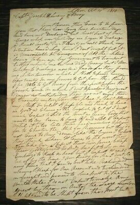 1810 MARITIME Letter WAR OF 1812 Embargo PENINSULAR / NAPOLEONIC WAR Portugal