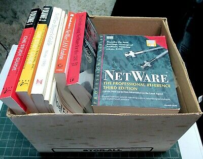 Netware library: books, manuals, reference cards - mostly for 3.11
