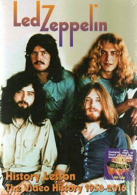 Led Zeppelin - History Lesson / Video Hystory 1958-2016 - 7Dvd Box-Set N°187/300
