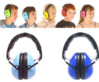 Baby Toddler Kids  Folding Ear Defenders Earmuffs Hearing protection N Safety