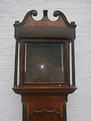 EARLY OAK LONGCASE CLOCK  case for a  13X13 inch dial C1740
