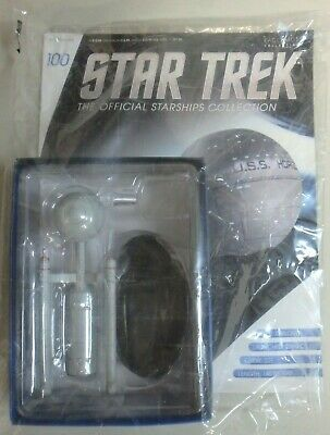 Star Trek Official Magazine #100 Daedalus Class model figure by Eaglemoss. New.