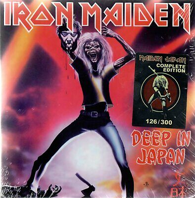 Iron Maiden - Deep In Japan - 7Cd Box-Set N°126/300 - New Release June 2019