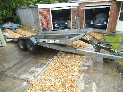 Brain James tilt bed clubman car transporter trailer. Had it from new .