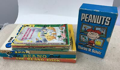 Collection/Bundle Of Vintage Children's Books Includes Beano & Peanuts #796