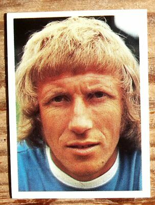 Panini Football Top Sellers 77 Colin Bell Manchester City No 166 Vg Sticker