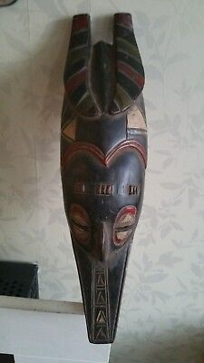 Fine African Guro Zemle Antelope wood mask. Great example. Ivory Coast.