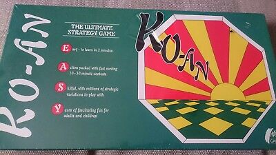 Board game Ko-An The Ultimate Strategy  board Game new