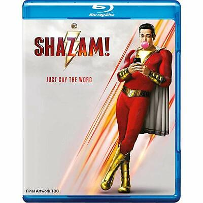 Shazam! (2019 - Blu Ray + DVD) - Brand New Factory Sealed Ships Now