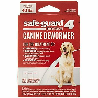 8in1 Safe-Guard Canine Dewormer Large Dogs, 3 Day Treatment Pet Wormers Supplies