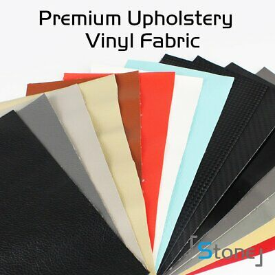 "54""L x 36""W Faux Leather Marine Vinyl Fabric Clothing Upholstery Weatherproof"