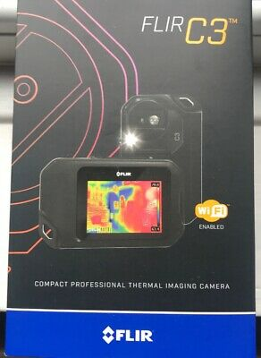 FLIR C3 Compact Thermal Camera with Wi Fi - Black