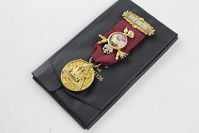 Vintage Hallmarked .925 STERLING SILVER MASONIC Medal / Jewel Peace Chapter 44g