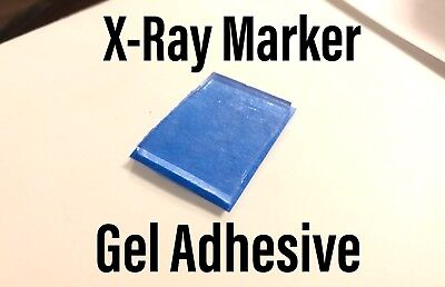 X-Ray Marker Adhesive Gel Strips Washable Reusable SET (2 Pieces) xray Radiology