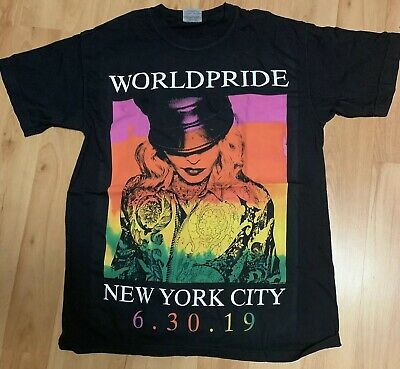 Madonna Official Madame X World Pride T-Shirt Rare Limited Edition 2019 Nyc Gay
