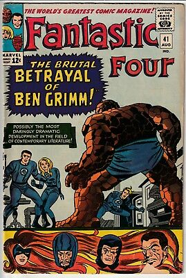 Fantastic Four #41 • Betrayal of Ben Grimm! Featuring the Frightful Four!