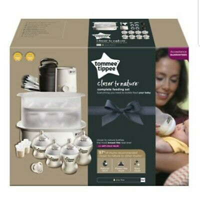 Tommee Tippee Complete Starter kit Baby Feeding Set (Closer to Nature)