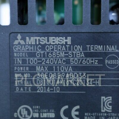"(Used) GT1685M-STBA Mitsubishi PLC Touch Screen Free ""FedEx"" Intl' shipping!!"