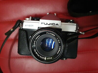 Fujica ST601 film camera with 55mm Lens