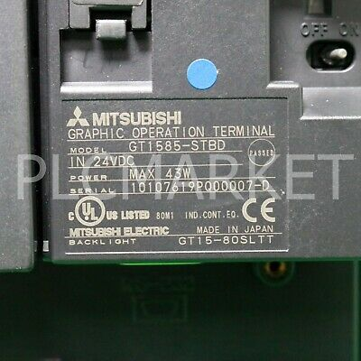 """(Used) GT1585-STBD Mitsubishi  Touch Screen Free """"FedEx """" intl' shipping!"""