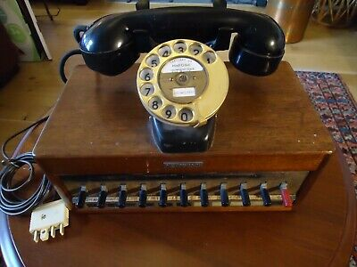 "Vintage ""DICTOGRAPH"" Working Phone"