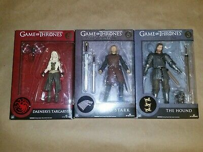 Game of Thrones Legacy funko lot daenerys ned stark the hound sealed 5 6 3