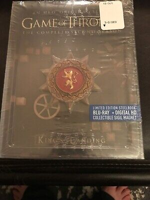 Game of Thrones: The Complete Second Season — Limited Edition Steelbook
