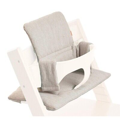 Stokke Tripp Trapp highchair cushion set in Grey Loom RRP$69