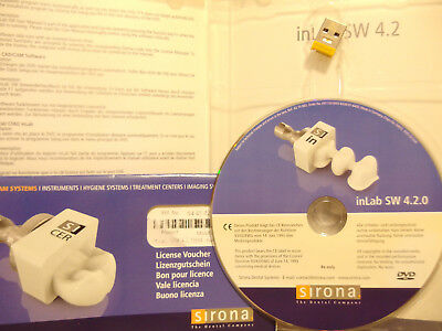 inLab 4.2 Software With Licence   SIRONA  CEREC