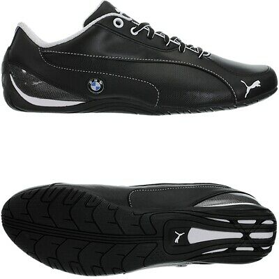 Puma Drift Cat 5 BMW NM black men's low-top sneakers leather NEW Size 48,5